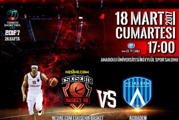 Eskişehir Basket - Acıbadem Üniversitesi