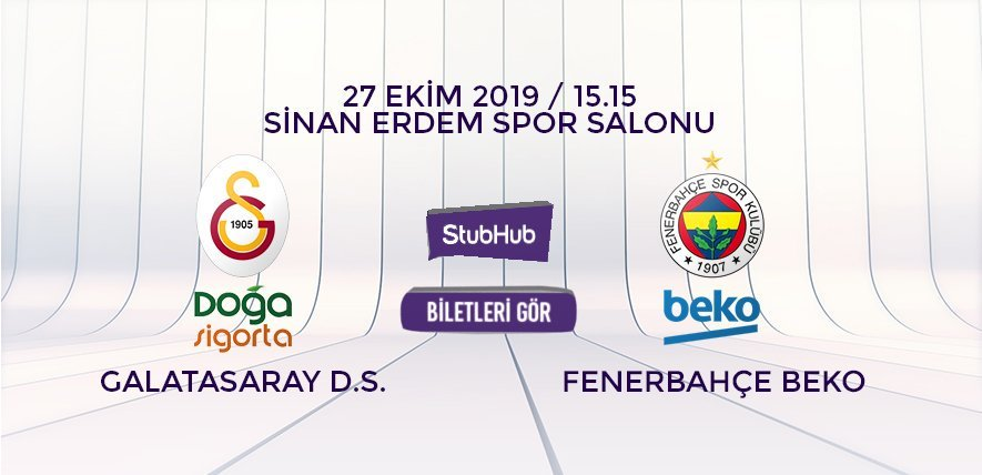Galatasaray Fenerbahçe Beko bilet nasıl alınır?