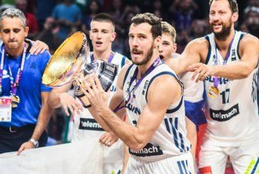 3 Goran Dragic (SLO) - Slovenia v Serbia, 2017 FIBA EuroBasket Final Round, Istanbul - Sinan Erdem Arena(TUR), Final, 17 September 2017