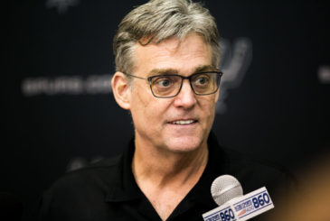 Spurs General Managers R.C. Buford was named NBA Executive of Year. Photo by Kathryn Boyd-Batstone