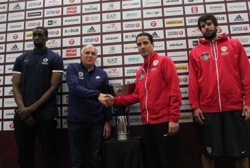 FENERBAHCE -OLYMPIAKOS IKI FINALIST FINAL FOUR BASIN TOPLANTSI 20.05.2017