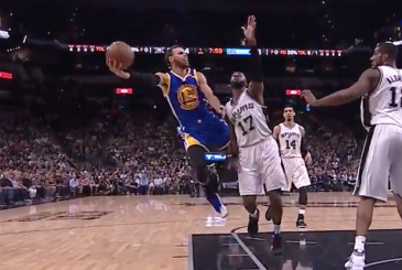 curry impossible layup