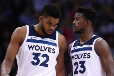 Jimmy Butler - Karl-Anthony Towns